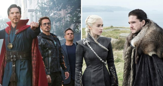 Avengers: Endgame and Game of Thrones